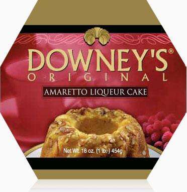Amaretto Liqueur Cake 1lb